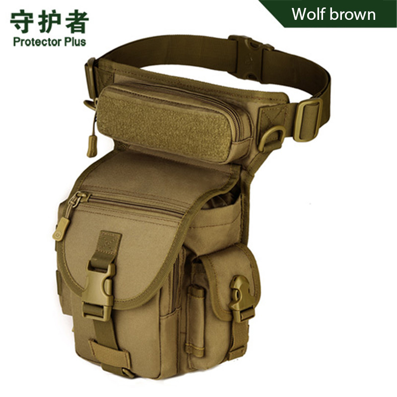camouflage leg bag saddle bags male bag shoulder inclined photographic travel camera bag nylon high grade Fashion girl