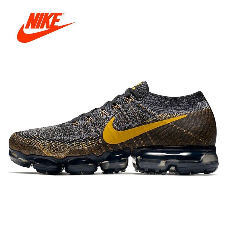 online store c36d0 e6ea4 Original auténtico Nike aire Vapormax Flyknit de los hombres Zapatos de  deporte al aire libre zapatillas