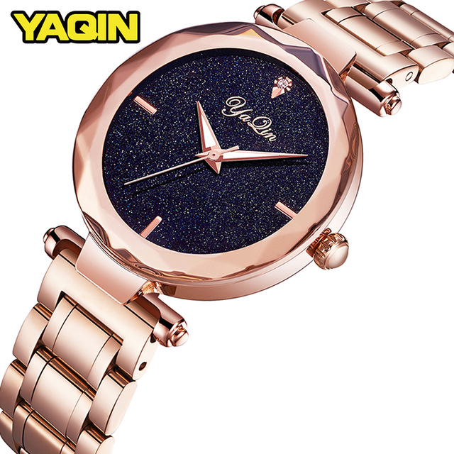 YAQIN women watch stainless steel quartz watch new fashion business casual luxury brand ladies watch Relogio Feminino chenxi fashion luxury quartz watch women dress stainless steel strap waterproof business casual ladies watches relogio feminino