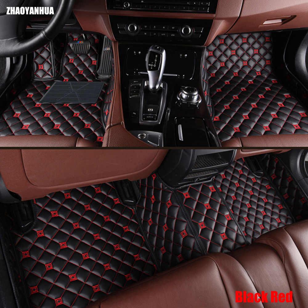 ZHAOYANHUA tapis de sol de voiture pour Chevrolet Cruze Malibu Sonic Trax voile captiva epica 5D voiture style tapis revêtement de sol