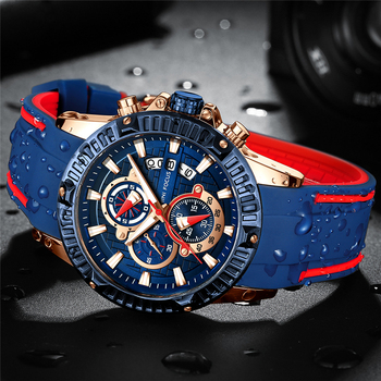 MINIFOCUS - Luxury Sport Wrist Watch