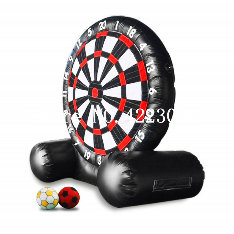 Giant soccer game inflatable football dart board for sale Football Soccer Dart Board Foot Darts outdoor inflatable soccer dart