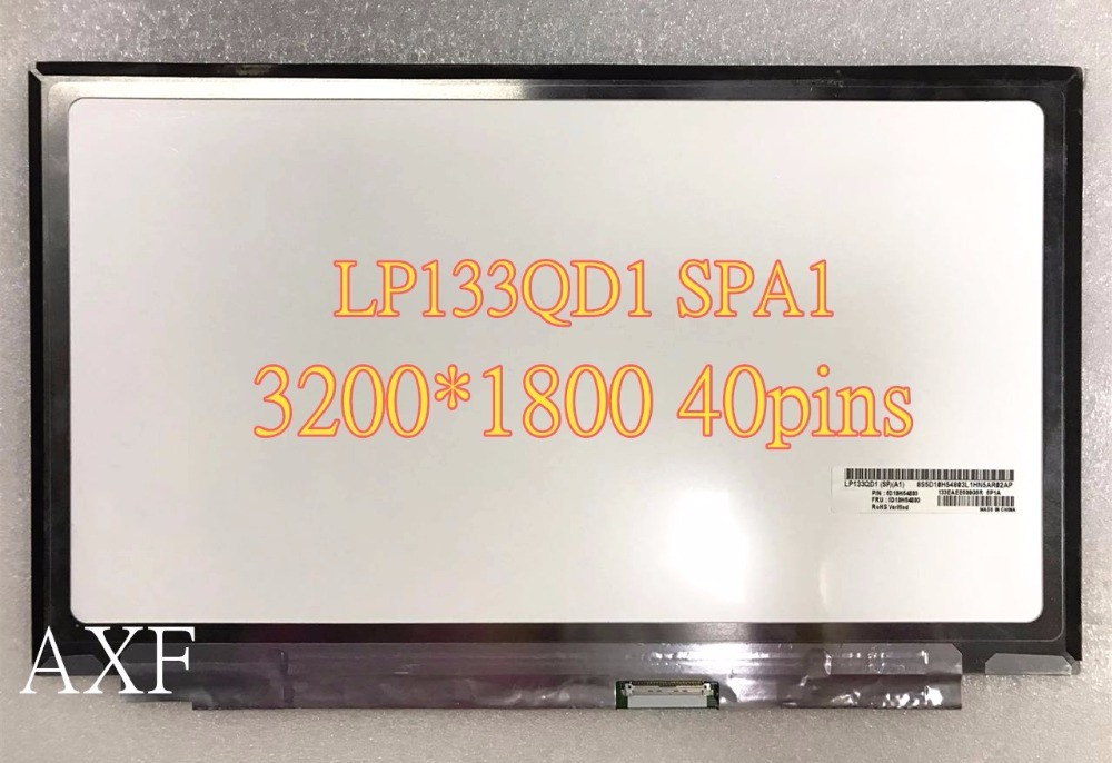 13.3 LCD SCREEN fit LTN133YL05 LP133QD1-SPA1 3200X1800 for Lenovo Yoga 900 4 pro 3200 x 1800 lcd screen assembly for lenovo ideapad yoga2 pro 20266