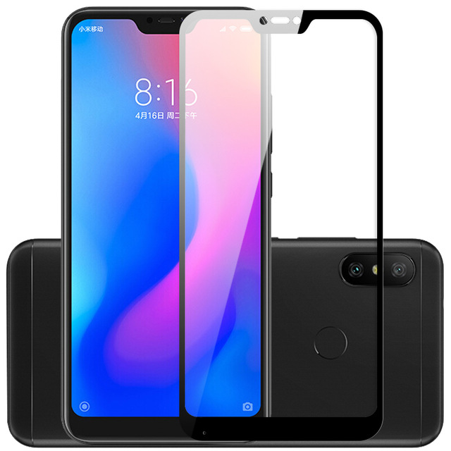 2 Packs Tempered Glass For Xiaomi Mi A2 Lite Screen Protector 9H On Phone Protective Glass For Xiaomi Mi A2 Lite Glass