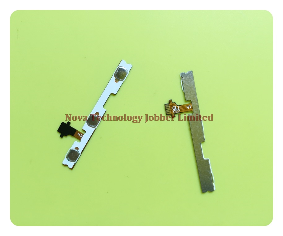 Apple iPad mini Power On Off Volume Button Key Flex Cable Replacement Black Sla