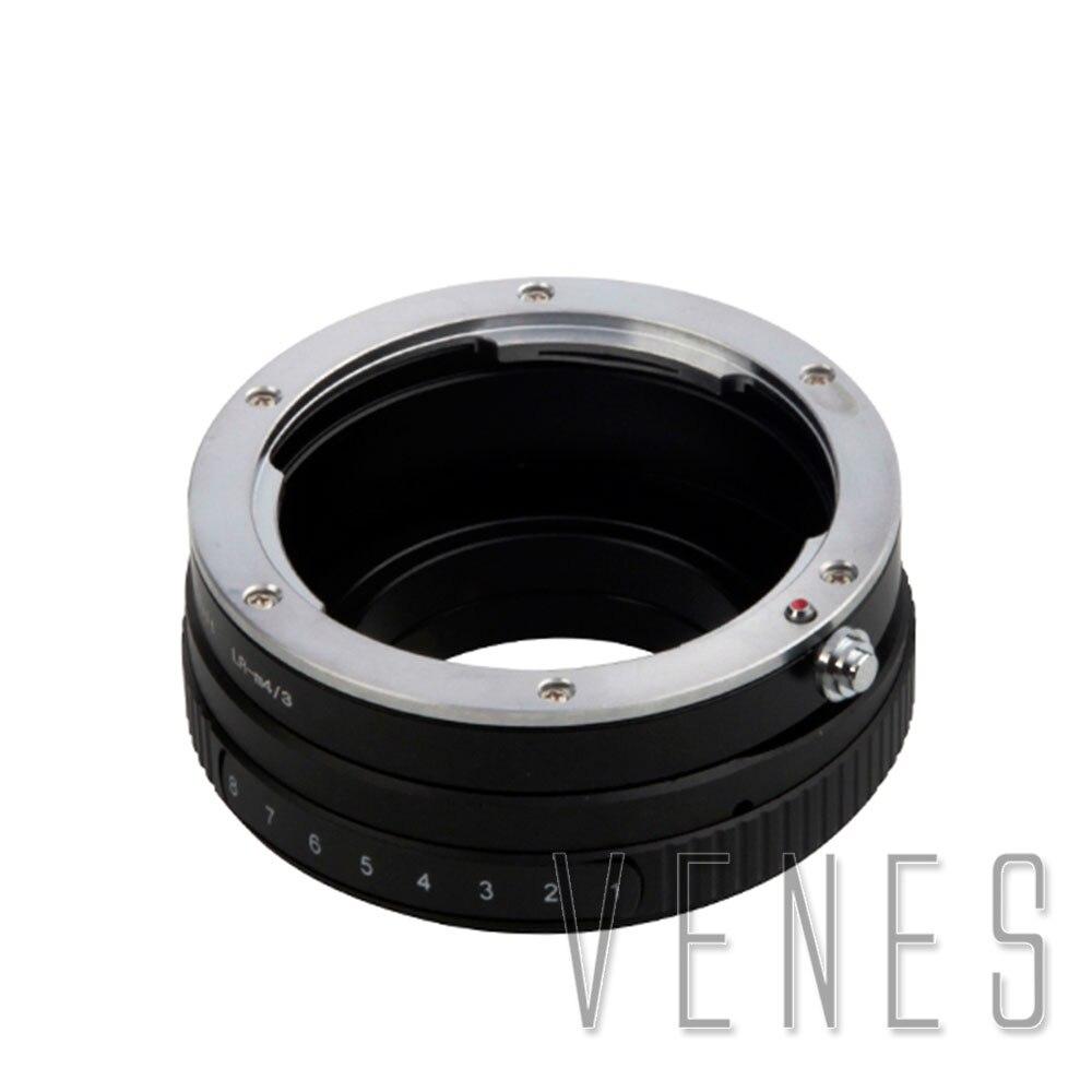 Venes L/R-M4/3, inclinaison pour objectif Leica R pour s'adapter à la bague adaptateur Micro quatre tiers, pour caméra Micro quatre tiers 4/3