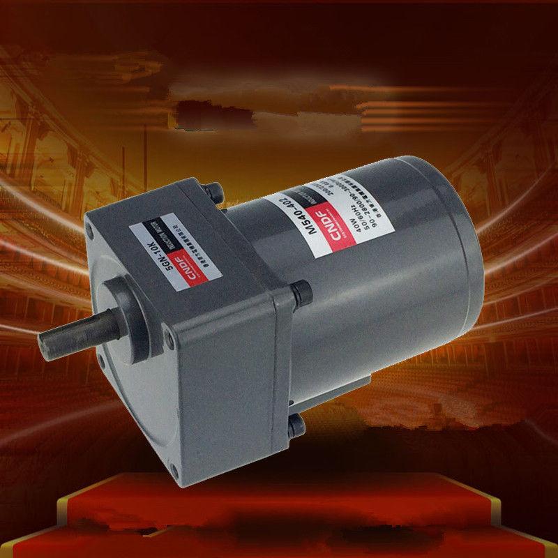 цена на AC Vertical Gear Motor Governor Adjust the speed 40W M540 Single Phase 110V/115V 220V/230V 7RPM-450RPM 5GN