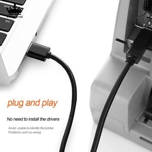 Image 5 - Usb B Kabel Usb 2.0 Type A Male Naar B Male Scanner Printer Kabel Sync Gegevens Charger Kabel Voor Printer voor Laser Printer Verkoop