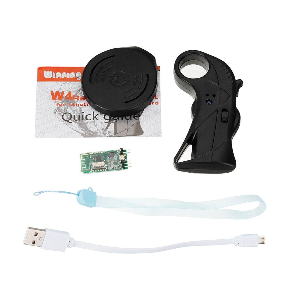 2.4 GHz avec la télécommande de récepteur a placé le petit Scooter électrique Durable imperméable de planche à roulettes de remplacement portatif de Longboard