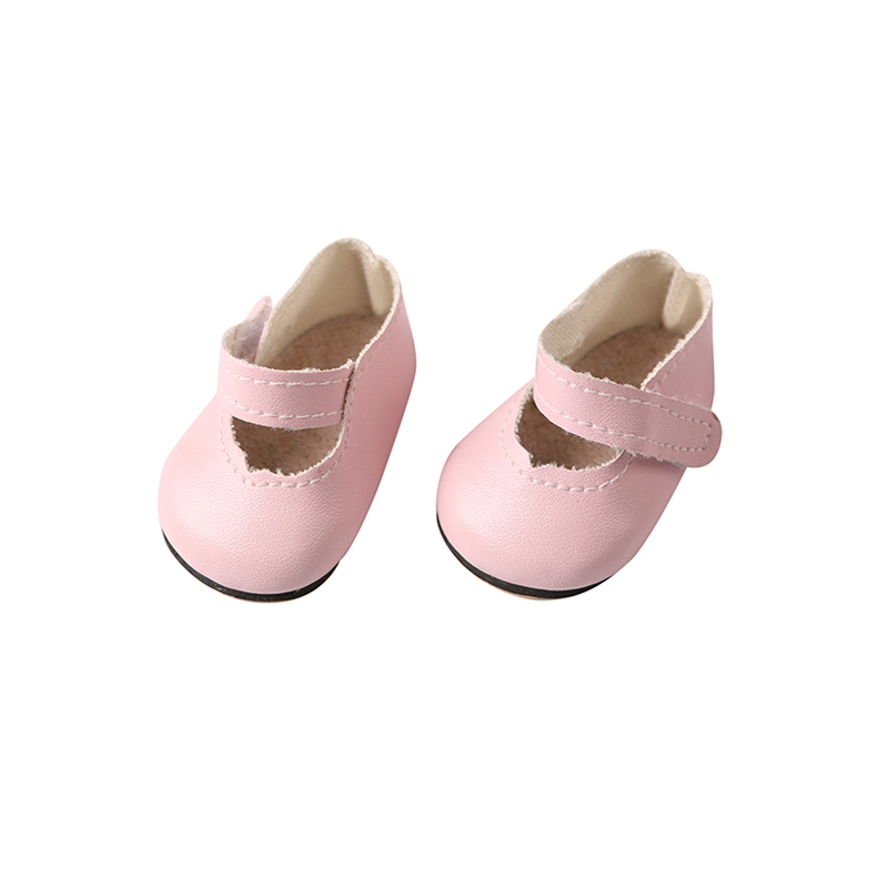 Free shipping 8cm doll shoes zapf baby doll Mini Toy Shoes For Dolls Leather Shoes