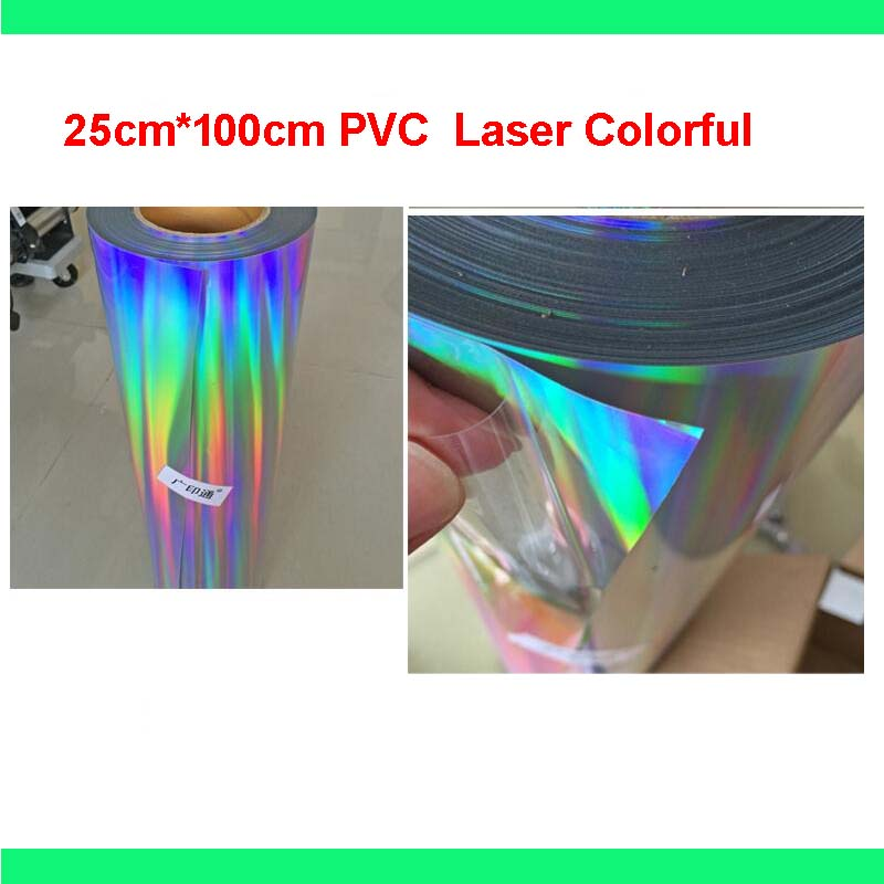 Free Shipping 1 Sheet 10 Quot X40 Quot 25cmx100cm Laser Colorful