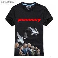 Furious 7 Fashion T Shirt Men Paul Walker Fast Furious Women Men O Neck T Shirt