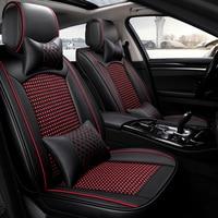 Хорошее качество и Бесплатная доставка! Полный комплект чехлы сидений автомобиля для Mercedes Benz C Class W204 2013 2007 удобные прочные чехлы на сиденья