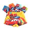5 unids/lote verano fresco niños boxer underwear verano muchachos de los niños del coche de dibujos animados lindo niños underwear calzoncillos pantalones calzoncillos