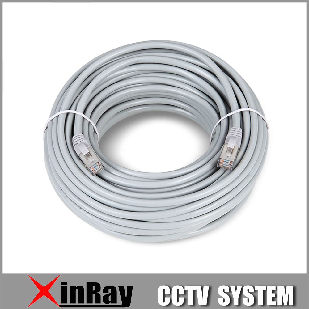 Xinnray Ethernet Network Cable RJ45 Lan Cable 1M 5M 10M 20M SSTP Patch Lan CAT5 Cable for IP Camera NVR PC Router Laptop