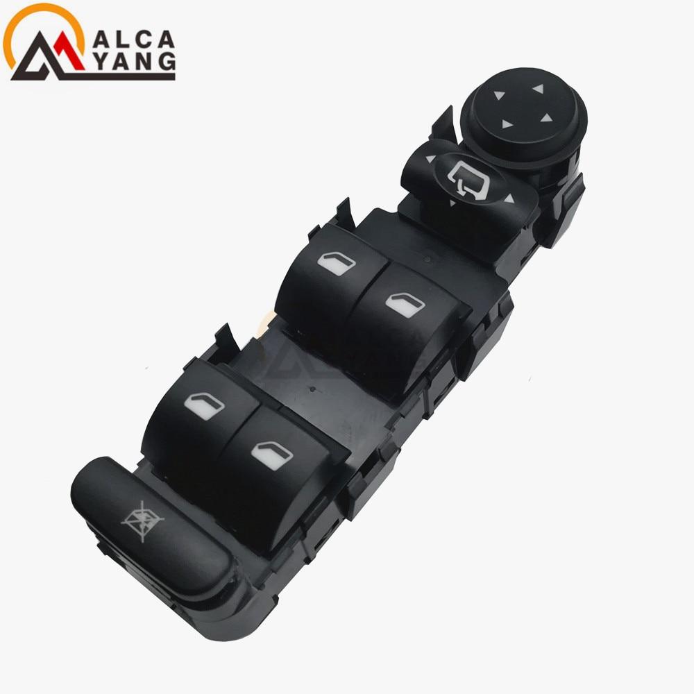 6554.HA 6554HA 6554 HA Front Left Side Electric Power Window Regulator Master Switch For Citroen C4 2004-2015