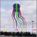 Venda quente de Alta qualidade Frete grátis 23 m multicolor Polvo pipa voando mais alto easy control brinquedos ao ar livre goldfish bag com lidar com