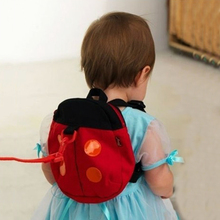 2018 Super Cute Baby Multifunctional Study Walking Belts Lovely Beetles Bats Shape Toddler Anti-Lost Bag BackPack With Long Belt