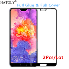 2Pcs Huawei P20 Pro Glass Tempered Glass for Huawei P20 Pro Film 9H HD Full Glue Full Cover Screen Protector for Huawei P20 Pro все цены