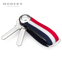 Modern Brand New 2016 Smart Key Holder EDC Gear Key Organizer Key Chain Famous Designer Creative