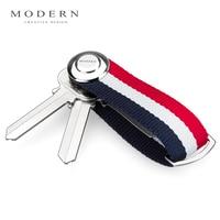 Modern Brand New 2016 Smart Key Holder EDC Gear Key Organizer Key Chain Famous Designer Creative