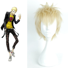 Persona5 Ryuji Sakamoto Cosplay For Halloween Carnival Party Hair Wig For Men