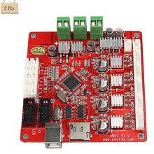 5Pcs Anet 3D Printer Control Motherboard for Anet V1.0 Printer Control Reprap Mendel Prusa