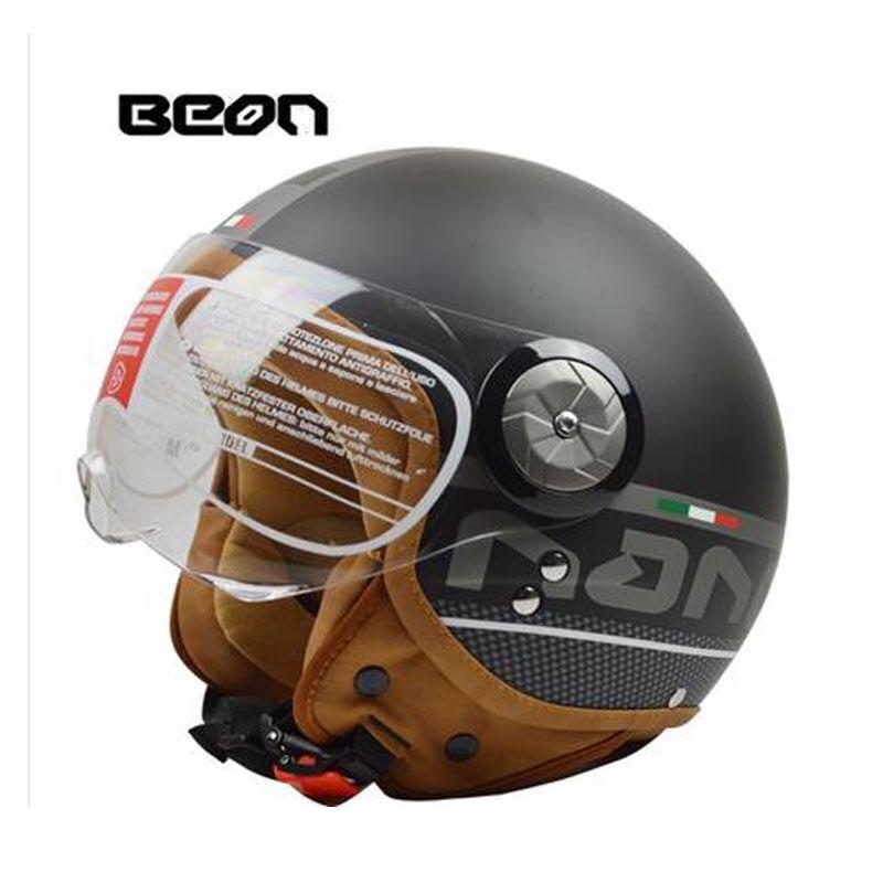 Мотоцикл шлем открытым лицом cascos пункт мото лошади пункт мотоциклиста гоночный мотоцикл старинные шлемы