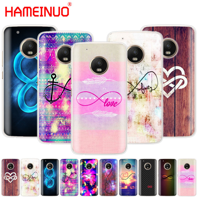 Hameinuo Infinity Symbol Mathematical Large Love Nebula Case Phone
