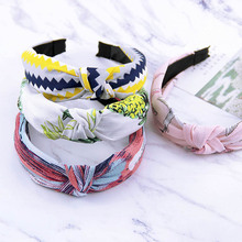Fashion 3pcs/set Fresh Printed Korean Hair Band Girls Women Headband Top Grade Girls Hair Accessories