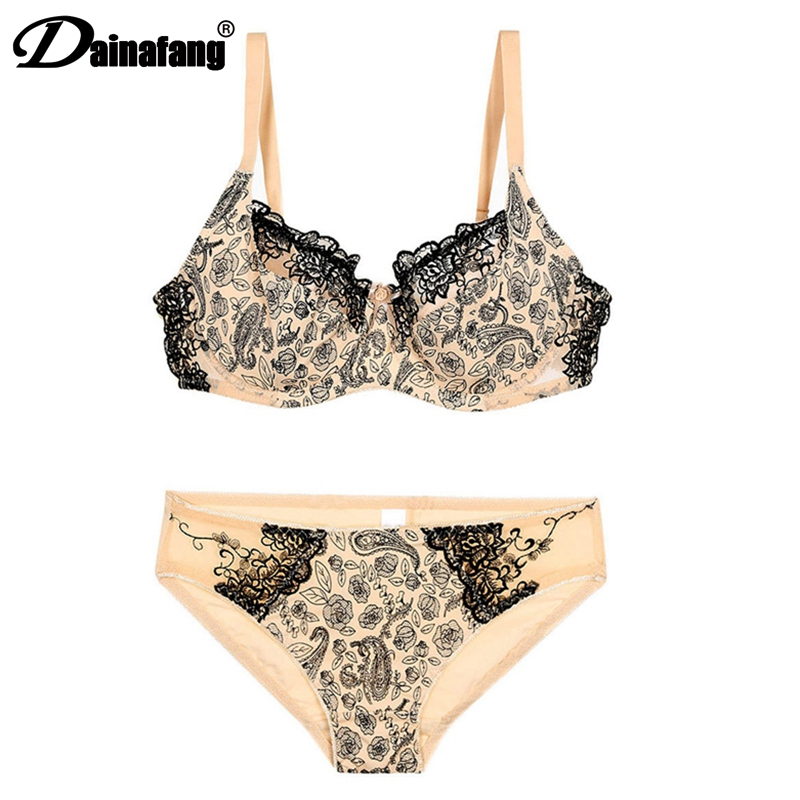 hot sale 90 95 100 105CDE cup   bras     sets   for women,lace sexy underwear   bra     set  ,fashion lingerie brassiere+  briefs