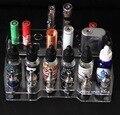 E cig распылитель электронной жидкости 10 мл 20 мл 30 мл бутылки, коробки mod батареи механический мод полка дисплея батареи держатель e сигареты