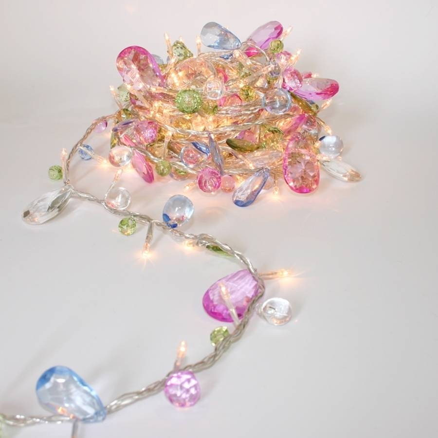 innovative design 38148 fe366 Coco chic String lights,battery style String with Jewels ...