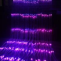 Novelty Waterfall Light String 3Mx3M Hotel Patio Decor Fairy Lights 336 LED Neon Ribbon Lamps Festival Waterproof Led Strip