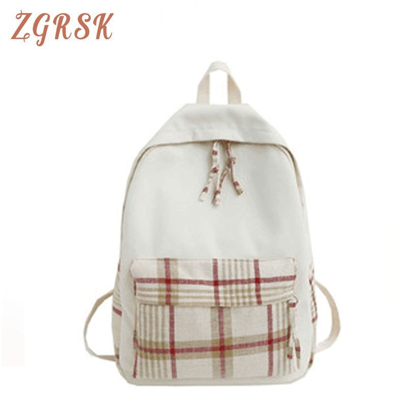 Women Fashion Canvas Backpacks Bagpack Female Designers Back Pack Bag For Students Teenagers Backpack Lovely Backpacks Bags in Backpacks from Luggage Bags