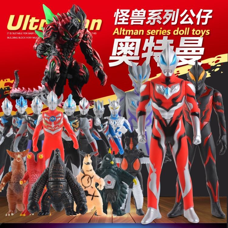 13cm Monster Soft Rubber Ultraman Geed Plays Monster Legion Hand-wrestling Puppet Children's Toys 25 Ultraman Models