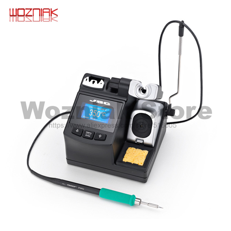 WOZNIAK JBC Best Sell CD-2SHE Integrative Soldering Station Machine Use With T210-A Handle Precision Soldering Station 230v