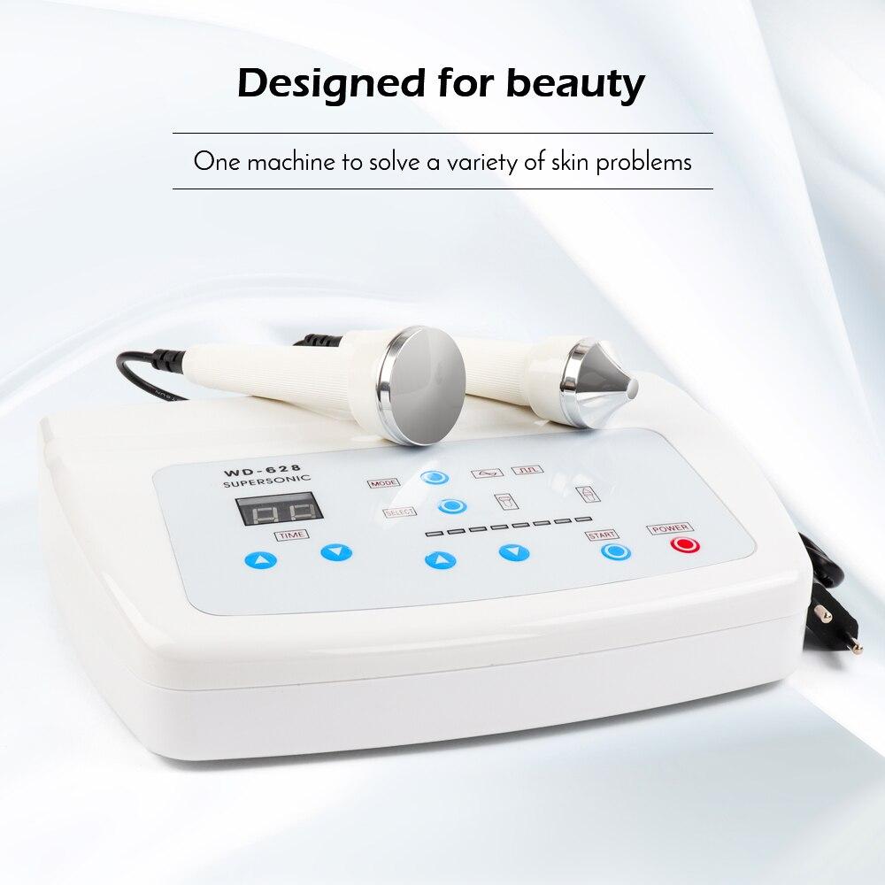 Profesjonalny ultradźwiękowy kobiety pielęgnacja skóry wybielanie usuwania Freckle usuwanie wysokiej częstotliwości podnoszenia skóry Anti Aging piękno maszyna do twarzy w Przyrządy do pielęgnacji skóry twarzy od Uroda i zdrowie na AliExpress - 11.11_Double 11Singles' Day 1
