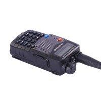 """רדיו ווקי טוקי (2 PCS) Baofeng UV5RA Ham שני הדרך רדיו טוקי ווקי Dual-Band מקמ""""ש (שחור) (4)"""