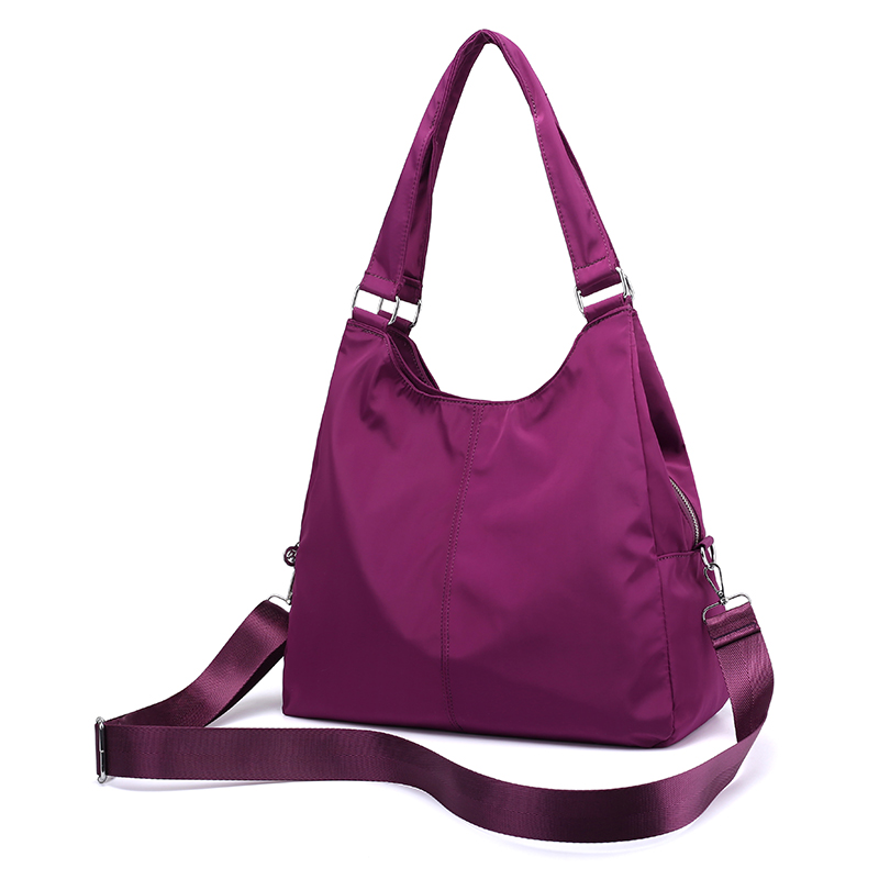 New Casual Women Handbag Waterproof Nylon Shoulder Bag  1