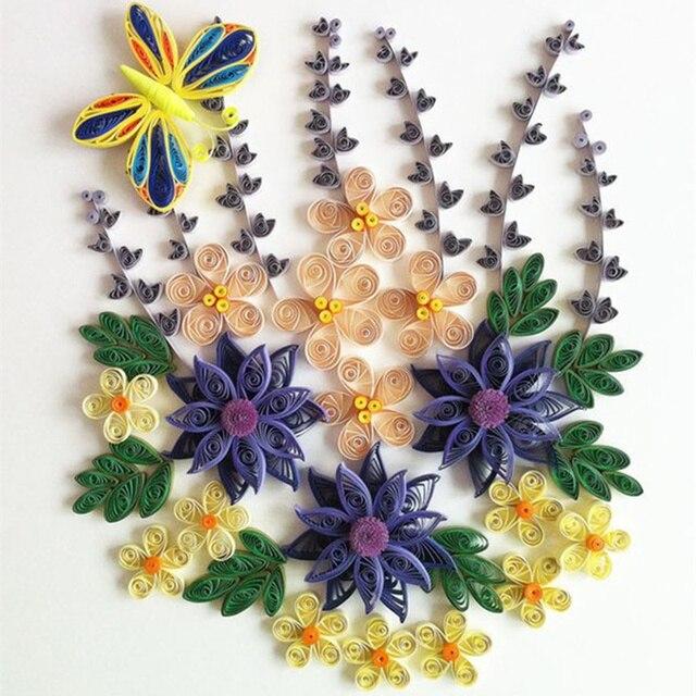 1 Pcs Paper Quilling Tools DIY Scrapbooking Paper Craft Tool Assorted Color Origami Paper Craft Crafts Decorating Tools Artwork