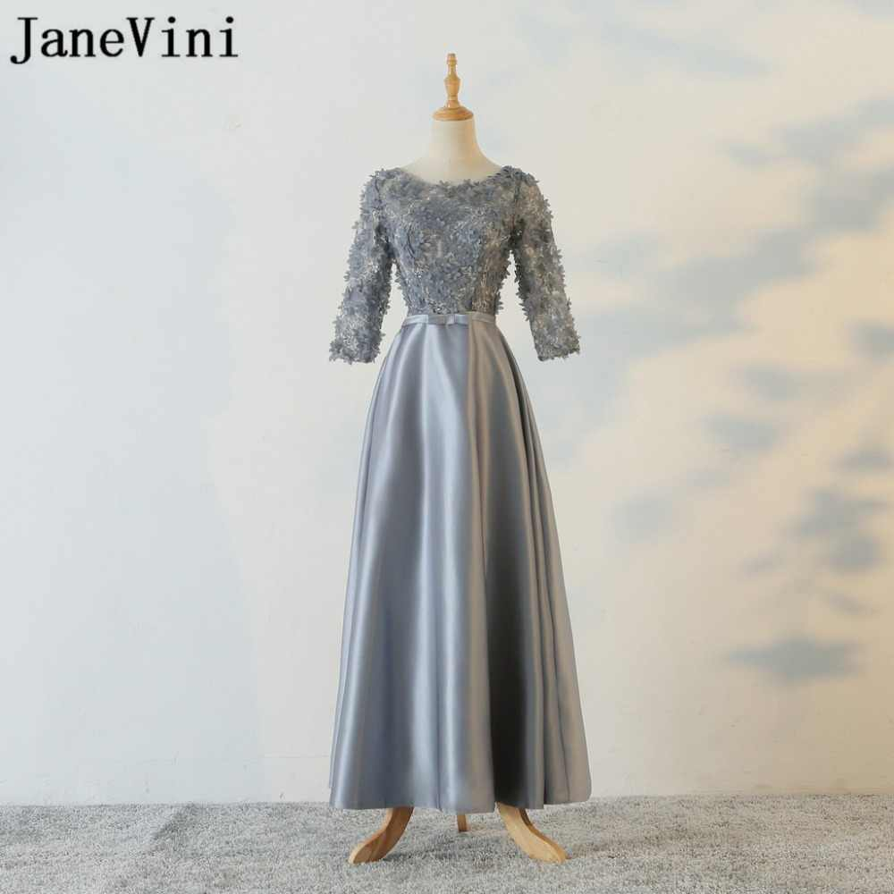 597c9c374b685 Detail Feedback Questions about JaneVini 2018 Elegant Gray Lace ...