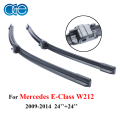 24''+24'' Pair Windscreen Wipers Blades For Mercedes Benz E Class W212, 2009-2014 Windshield Silicone Rubber Windows Accessories