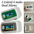 2 Color *Fingertip pulse oximeter SPO2 PR monitor oxymetre pulsioximetre OLED display waveform 6 Display Modes