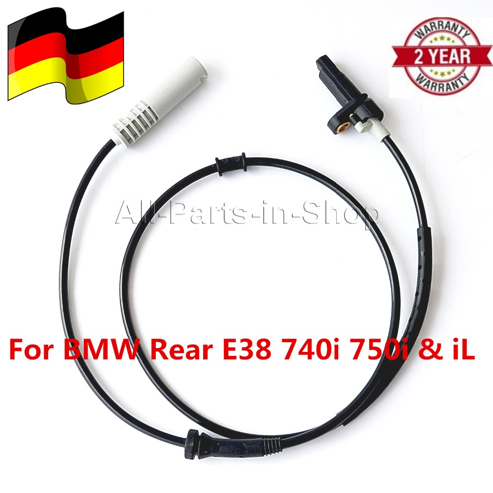 Car Front Left Right ABS Wheel Speed Sensor for BMW 7 Series E38 740i//iL 750iL 1