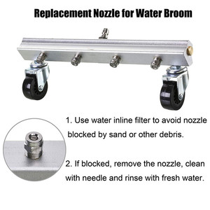 Image 5 - Sooprinse Hogedrukreiniger Oppervlak Cleaner Foam Nozzle Hogedrukreiniger Water Bezem Surface Cleaner 1/4 Male Npt 2020 Nieuwe