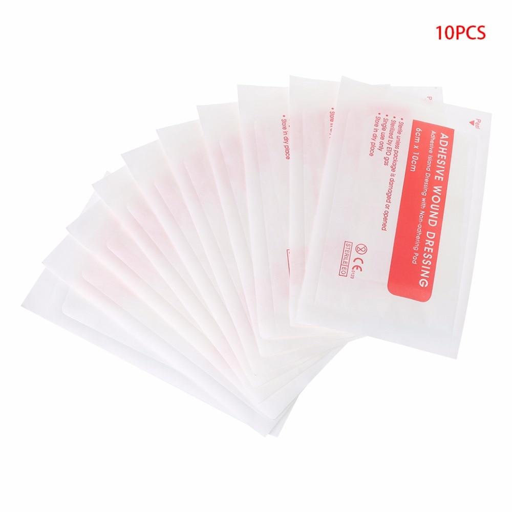10pcs Non-woven Medical Adhesive Wound Dressing Large Band Aid Bandage Care Tool   TONG6