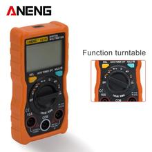 ANENG V01B NCV Digital LCD Multimeter AC/DC Voltmeter Ammeter True RMS Diode Resistence Frequency Tester Data Hold Auto Range holdpeak hp 870n auto range multimetro digital clamp meter multimeter pinza piers ammeter amperimetro true rms frequency tester