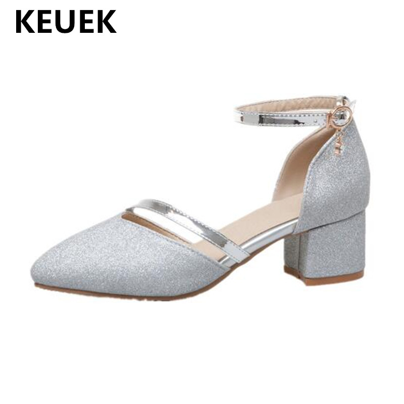 New Children Fashion Performance Shoes Princess Student Dress Shoes Kids Baby Toddler High-heeled Girls Leather Shoes 019