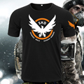 [Xinyu]Hot New The Division Tom Clancy Steel Cotton T-shirt Game Animation Tees Digital Direct Injection Ventilation
